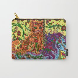 Purrfect Harmony Carry-All Pouch