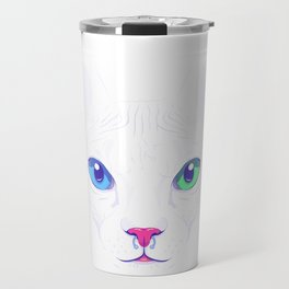 Cute sphynx cat Travel Mug