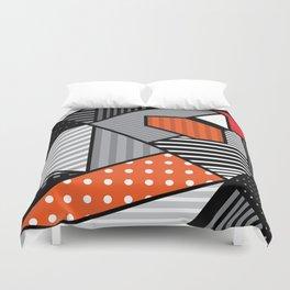 zebra finches Duvet Cover
