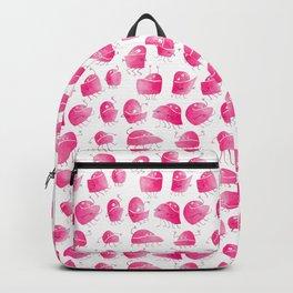 Pink Underbite Monsters Backpack