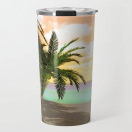 Dreamy Desert Island Travel Mug