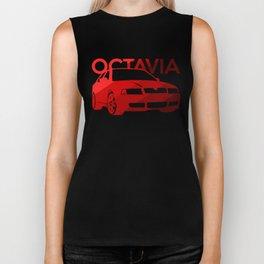 Skoda Octavia - classic red - Biker Tank