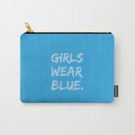 Girls Wear Blue Carry-All Pouch