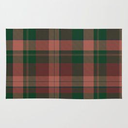 Wool-like plaid Rug