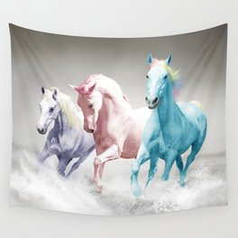 My Big Pony Wall Tapestry