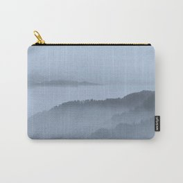 FOGGY BLUE MOUNTAINS Carry-All Pouch