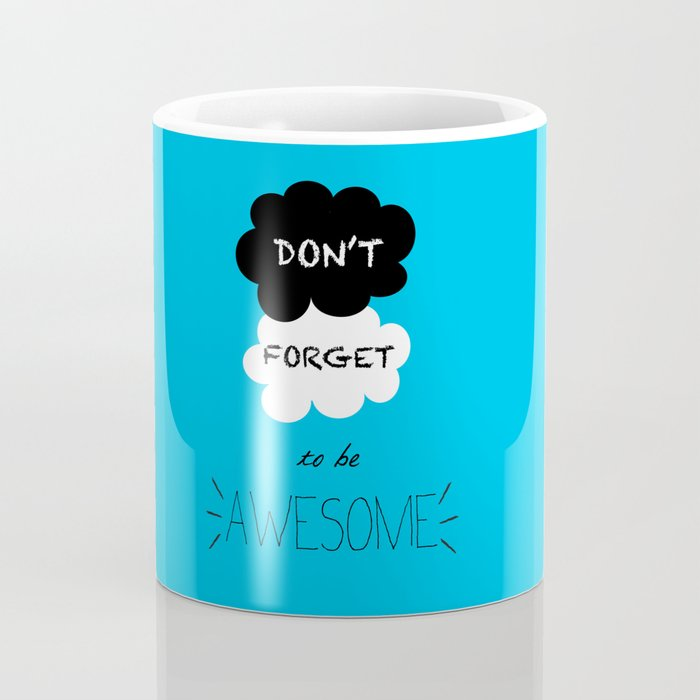 DFTBA TFIOS Nerdfighter Vlogbrothers Don't Forget to be Awesome, The Fault in Our Stars, John Green Coffee Mug
