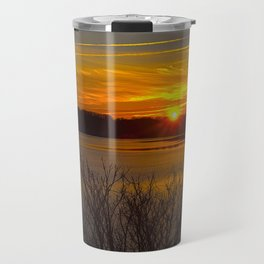 Sunrise at Little Seneca Lake Travel Mug