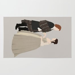 Outlander, Jamie and Claire Rug