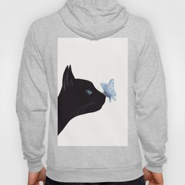 Cat and Butterfly Hoody