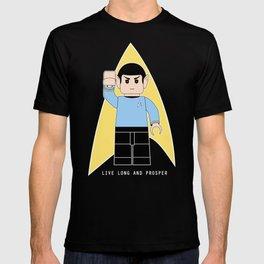 Live Long and Prosper  (Lego Spock - Star Trek) T-shirt