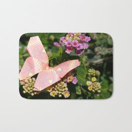 paper butterfly Bath Mat