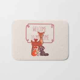 Welcome The Forest Bath Mat