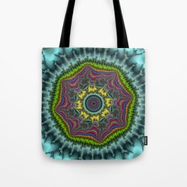 Fractal Agate Tote Bag