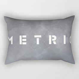 Metric Rectangular Pillow