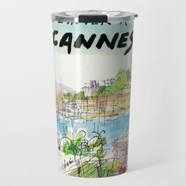 Winter In Cannes Travel Mug