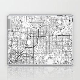Orlando Map White Laptop & iPad Skin