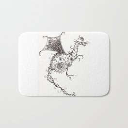 Garden Dragon Bath Mat