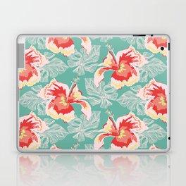 Hawaiian Flowers Laptop & iPad Skin