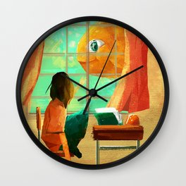 Fisheyes Wall Clock