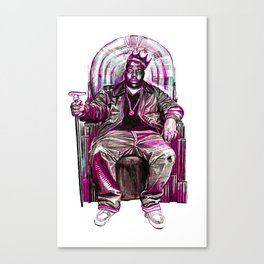 Notorious Big *King* Canvas Print