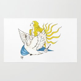 The Lady Aphrodite, The Golden Kypria. Rug