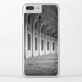 Dark Arcade In Washington D.C. Clear iPhone Case