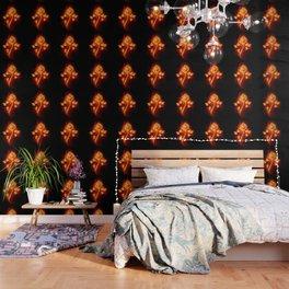 Fire Rose Wallpaper