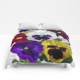 Pansies! Comforters