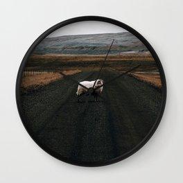 Ram Crossing II / Iceland Wall Clock