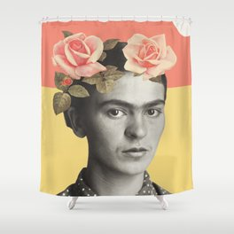 Frida. Shower Curtain