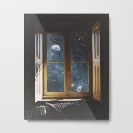 WINDOW TO THE UNIVERSE Metal Print