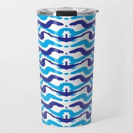Abstract Modern Pattern Art Prints Travel Mug