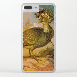 Symmetric Birds Clear iPhone Case