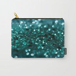 Sparkling OCEAN Glitter #1 #shiny #decor #art #society6 Carry-All Pouch