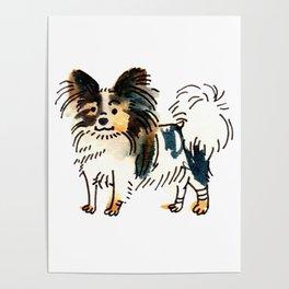 Jasper - Dog Watercolour Poster