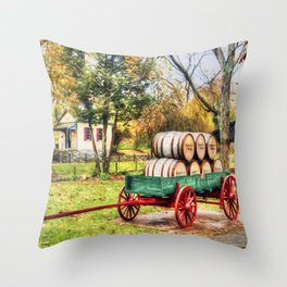 Bourbon Throw Pillow