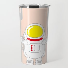 Space Odyssey   Astronaut Eats   Space Utensils   Galaxy Fork and Knife   pulps of wood Travel Mug