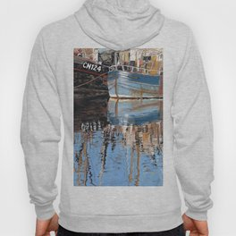 Reflections of Porthleven Harbour  Hoody