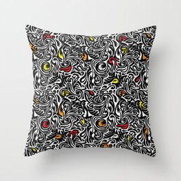 Abstract Thought Throw Pillow