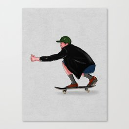 Skate Movemente Canvas Print