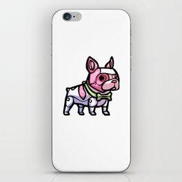 Pink Gorilla X Enfu Bulldog Mech  iPhone Skin