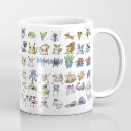 Pokémans! 151 Lazy-Drawn Pocket Monsters ( Coffee Mug