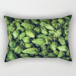 Hops by the bushel. Rectangular Pillow