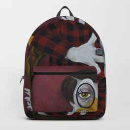 The Journalist / Sylvia vonQuack Backpack