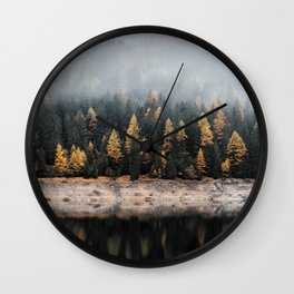 Forest Photography Wall Clock