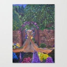 Gated Garden Canvas Print