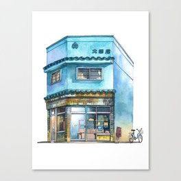 Tokyo Storefront #07 Canvas Print
