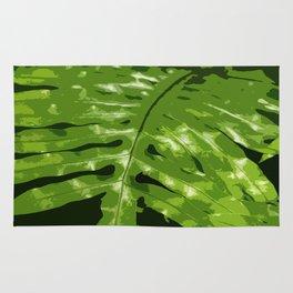 Decorative Fern Rug