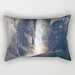 Bridalveil Falls, Yosemite California Rectangular Pillow